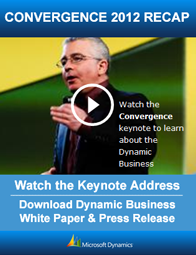 Watch Convergence 2012 Keynote Address (opens in new window)